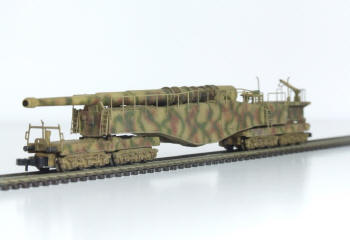 Each model is hand built, painted and weathered. It is a true 1:220 scale replica.